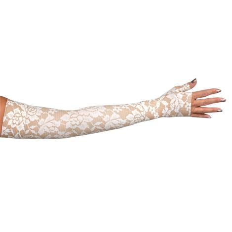 LympheDivas Darling Tan Compression Arm Sleeve And Gauntlet