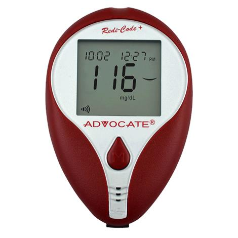 Pharma Supply Advocate Redi-Code Talking Glucose Meter