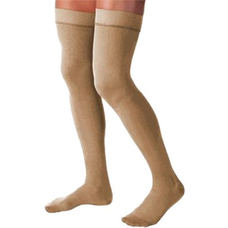 BSN Jobst Relief Thigh High 30-40mmHg Extra Firm Compression Stockings without Silicone Dot Band