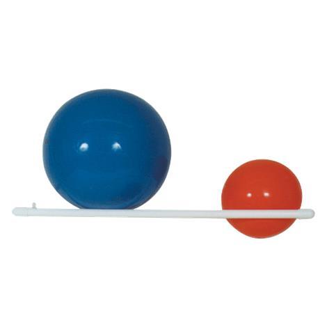 MJM International Wall Mount Therapy Ball Rack