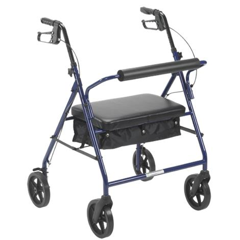 Drive Bariatric Rollator With Eight Inch Wheels