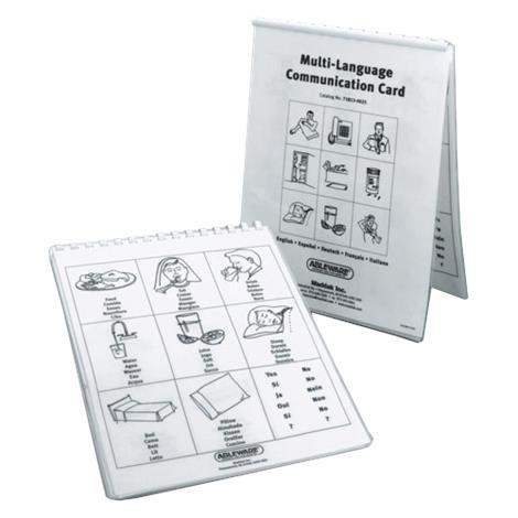 Buy Maddak Multi Language Communication Cards
