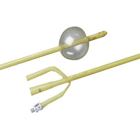 Buy Bard Three-Way Silicone Elastomer Coated Specialty Latex Foley Catheter With 30cc Balloon Capacity