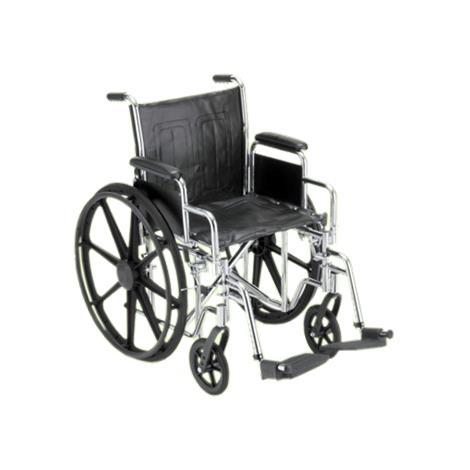 Buy Nova Medical Standard Manual Steel Wheelchair