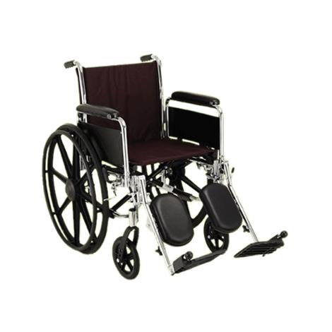 Nova Medical Steel Wheelchair With Detachable Full Arms