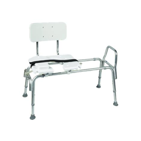 Buy Mabis DMI Heavy-Duty Sliding Transfer Bench with Cut-Out Seat