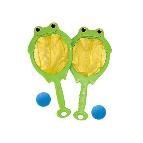Melissa & Doug Froggy Toss Catch Net And Ball Game