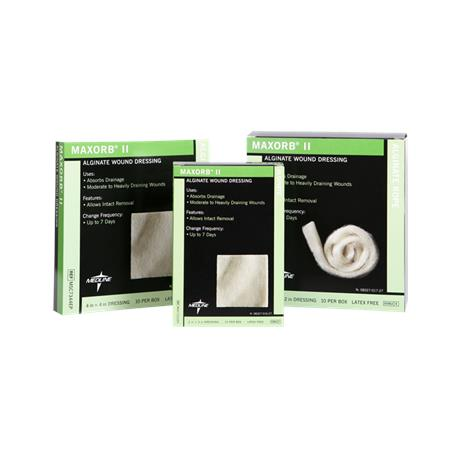 Medline Maxorb II Alginate Wound Dressing