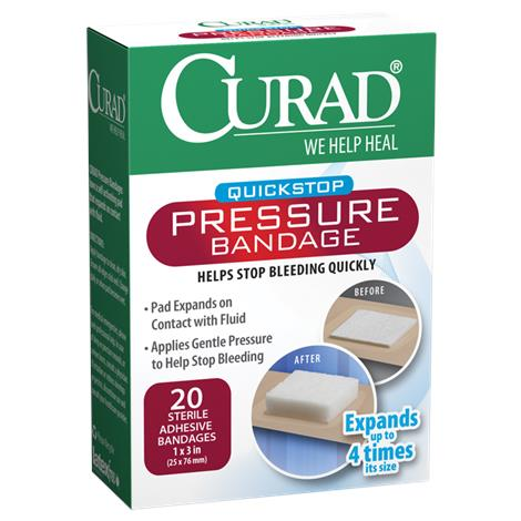 Medline Curad Pressure Adhesive Bandages