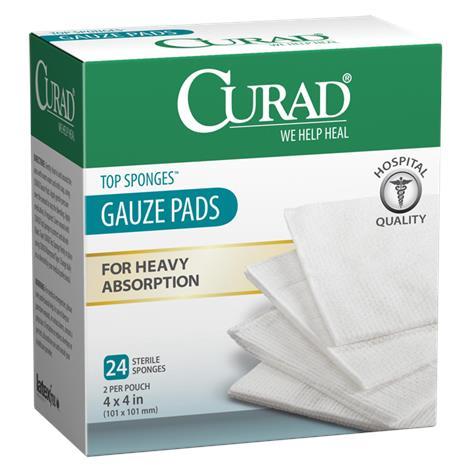 Medline Curad Hospital Quality Sterile Post-Op Top Sponges
