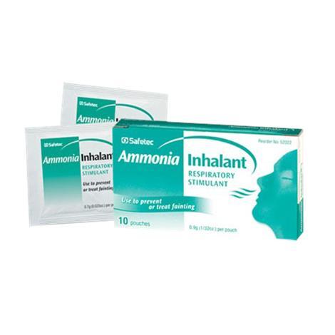 Safetec Ammonia Inhalant Respiratory Stimulant