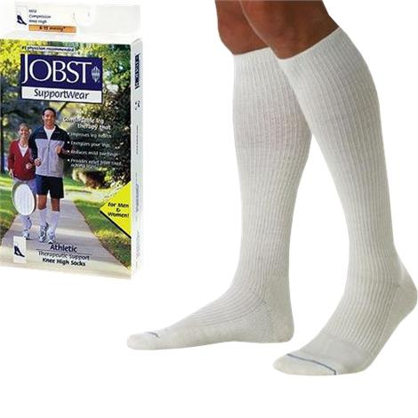 BSN Jobst Athletic Supportwear Closed Toe Knee High 8-15 mmHg Mild Compression Socks