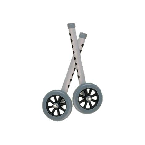 Buy Drive Five Inch Walker Wheels with Two Sets of Rear Glides for Use with Universal Walker
