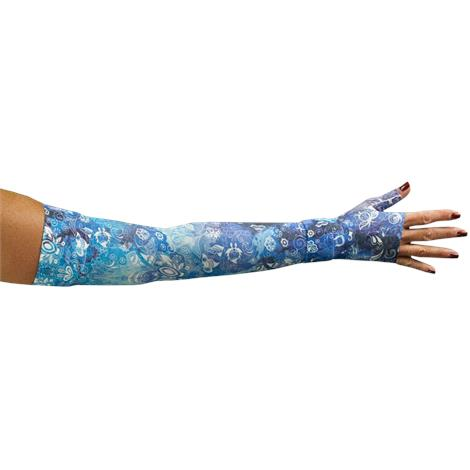 LympheDivas Sapphire Compression Arm Sleeve And Gauntlet
