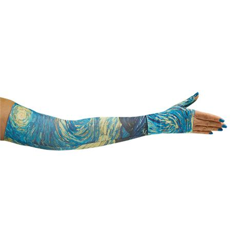 LympheDivas Starry Night Compression Arm Sleeve And Gauntlet