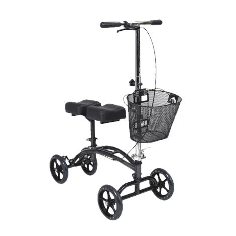 Drive Dual Pad Steerable Knee Walker With Basket