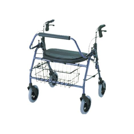 Nova Medical Mighty Mack Heavy Duty Four-Wheel Rolling Walker or Rollator