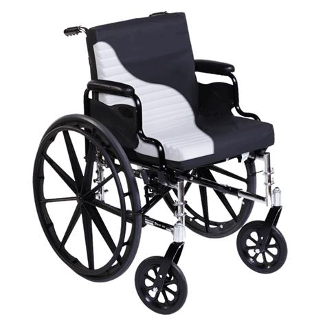Span America Short-Wave Wheelchair Seat and Back Cushion With Cover