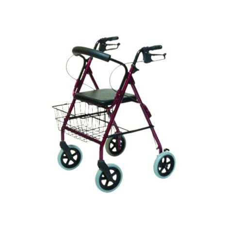 Graham-Field Lumex Walkabout Four-Wheel Contour Deluxe Rollator