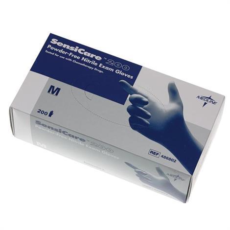 Medline SensiCare Powder-Free Nitrile Exam Gloves