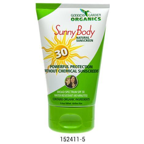 Goddess Garden SPF 30 Natural Body Sunscreen
