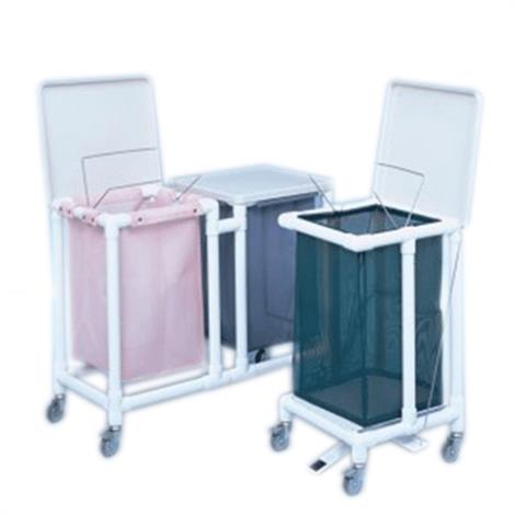 Duralife Laundry Hamper With Hinged Lid