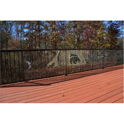 Buy Cardinal Gates Clear Outdoor Deck Shield