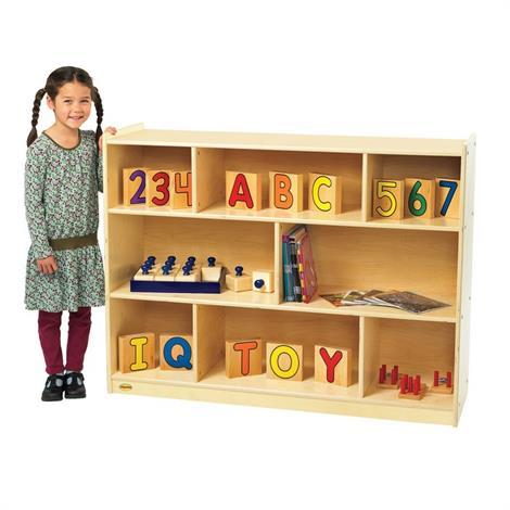 Buy Childrens Factory Angeles Birch Mobile Divide 3-Shelf Storage