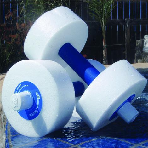 Sprint Aquatics Medium Resistance 12 Inch Disc Hand Bells