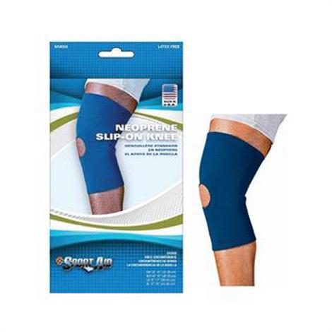 Scott Sport-Aid Neoprene Slip-On Knee Sleeve Brace