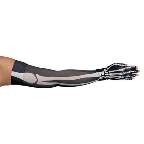 LympheDivas Bones Compression Arm Sleeve And Glove