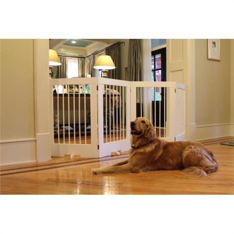 Buy Cardinal Gates 4 Panel Freestanding Pet Gate