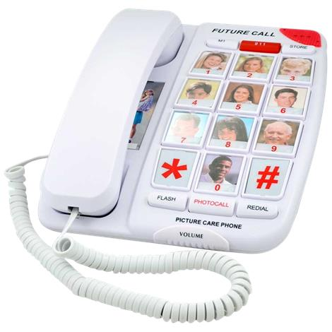 Buy Future Call Picture Care Memory Corded Amplified Phone