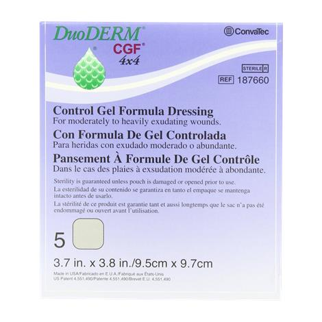 Buy Convatec DuoDERM CGF Sterile Dressing