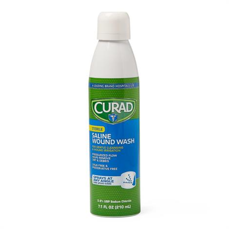 Medline Curad Sterile Saline Wound Wash
