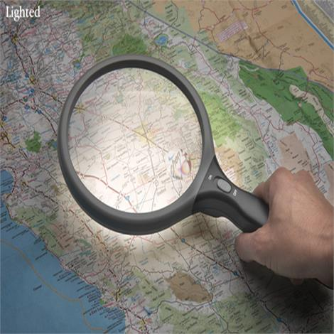 SuprVision Magnifier For Reading Small Prints
