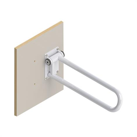 HealthCraft Wall Mount Wooden Plate for P.T. Rail