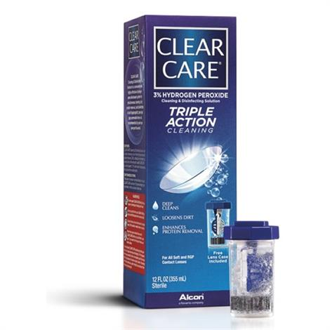 Clear Care Triple Action Cleaning & Disinfecting Solution