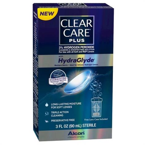 Buy Alcon Clear Care Plus Hydrogen Peroxide Cleaning and Disinfecting Solution