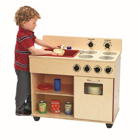 Buy Childrens Factory Angeles Birch 2-In-1 Kitchen