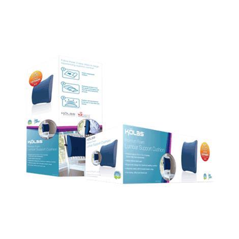 K2 Health Kolbs Super Compressed Lumbar Support Cushion