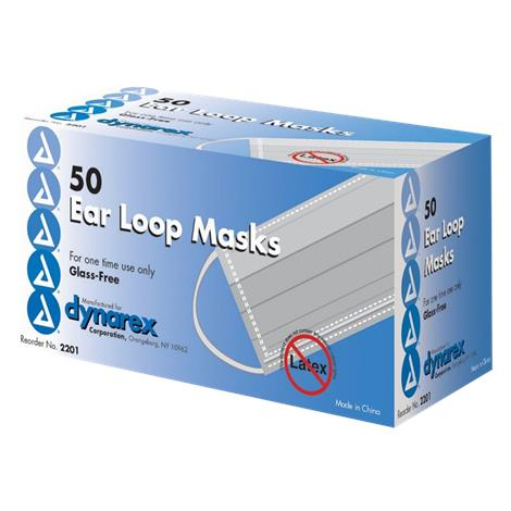 Dynarex Procedure Face Mask with Ear Loop