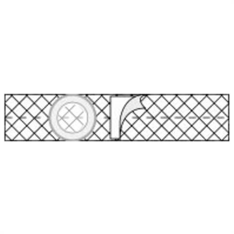 Nu-Hope Nu-Form 3 Inches (7.6cm) Wide Cool Comfort Elastic Support Belt