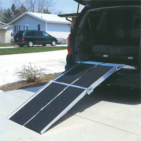 PVI Multifold Utility Ramp With Extended Lip