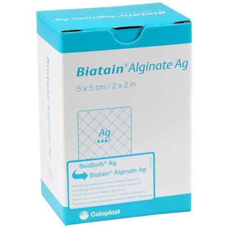 Coloplast Biatain Alginate Ag Dressing