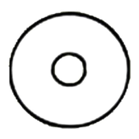 Nu-Hope Extended-Wear Skin Barrier 54 Round Disc - Three-And-Half-Inch Outside Diameter
