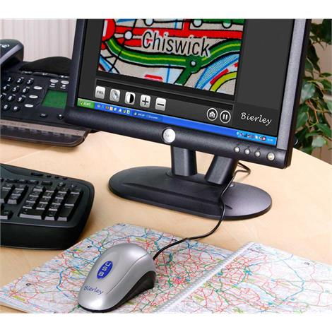 Bierley ColorMouse-USB-MD Electronic Magnifier