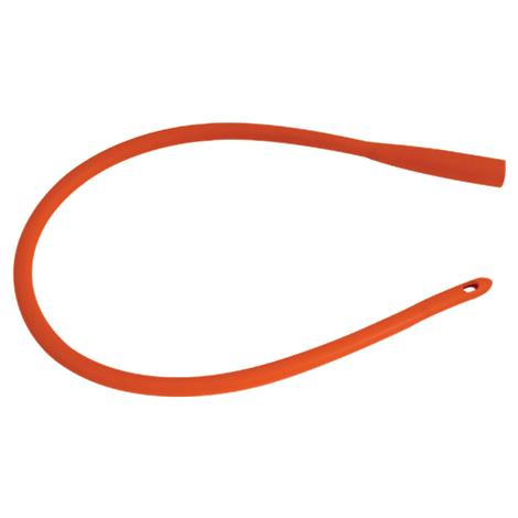 Unomedical Red Rubber Straight Intermittent Catheter
