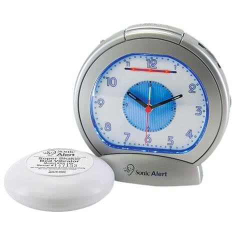 Sonic Boom Analog Alarm Clock with Bed Vibrator