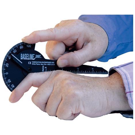 Baseline Plastic 180 Degree Digit Finger Goniometer